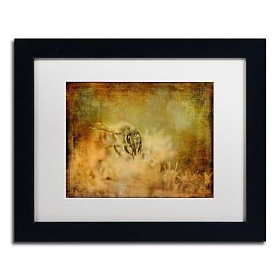 Trademark Fine Art Lois Bryan 'Send the Bees Love' 11 x 14 (LBR0282-B1114MF)