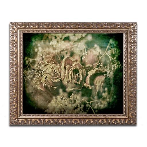 Trademark Fine Art Lois Bryan 'True Love Never Dies'  11 x 14 (LBR0292-G1114F)
