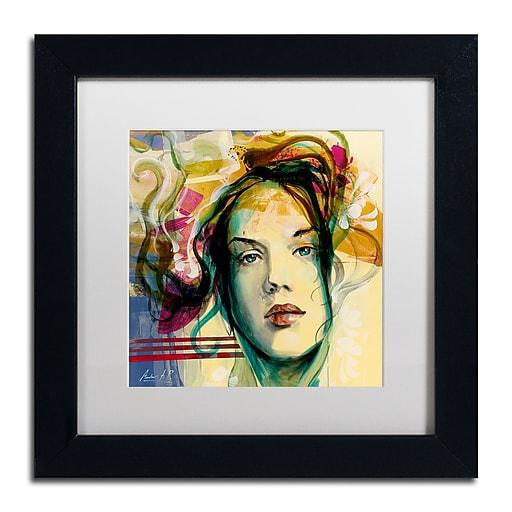 Trademark Fine Art Andrea 'Blanca Mujer'  11 x 11 (MA0600-B1111MF)