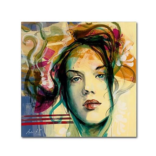 Trademark Fine Art Andrea 'Blanca Mujer'  14 x 14 (MA0600-C1414GG)