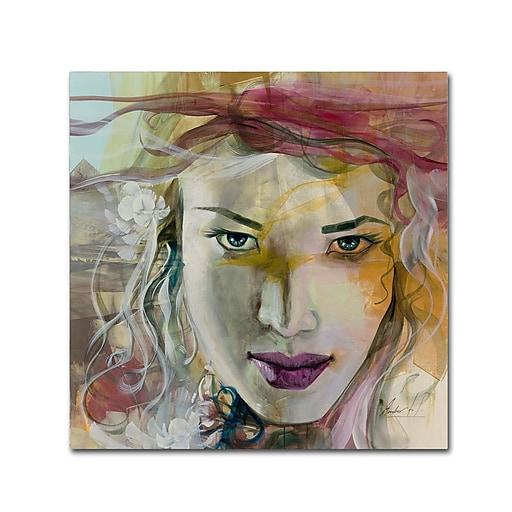 Trademark Fine Art Andrea 'Desire'  18 x 18 (MA0602-C1818GG)