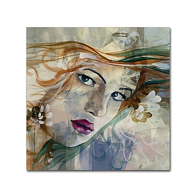 Trademark Fine Art Andrea 'Mia' 18 x 18 (MA0606-C1818GG)