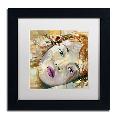 Trademark Fine Art Andrea 'Pale Blue Eyes' 11 x 11 (MA0608-B1111MF)