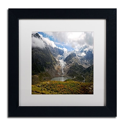 Trademark Fine Art Philippe Sainte-Laudy 'River of Ice' 11 x 11 (PSL0362-B1111MF)