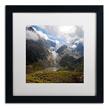 Trademark Fine Art Philippe Sainte-Laudy 'River of Ice' 16 x 16 (PSL0362-B1616MF)
