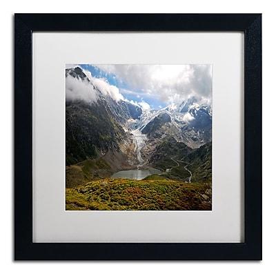 Trademark Fine Art Philippe Sainte-Laudy 'River of Ice' 16 x 16 (PSL0362-B1616MF)