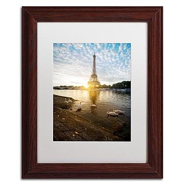 Trademark Fine Art Mathieu Rivrin 'Wake up Paris' 11 x 14 (RV0031-W1114MF)