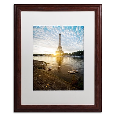 Trademark Fine Art Mathieu Rivrin 'Wake up Paris' 16 x 20 (RV0031-W1620MF)