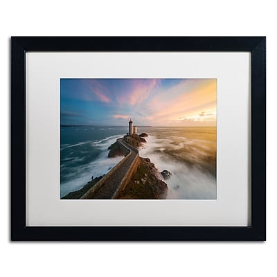 Trademark Fine Art Mathieu Rivrin 'Last Rays in Brittany' 16 x 20 (RV0037-B1620MF)