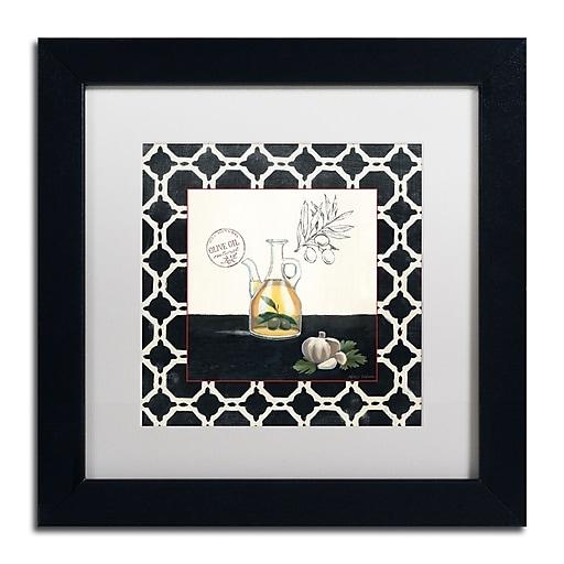 Trademark Fine Art Marco Fabiano 'Olive Oil and Garlic'  11 x 11 (WAP0144-B1111MF)