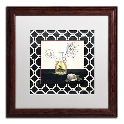 Trademark Fine Art Marco Fabiano 'Olive Oil and Garlic'  16 x 16 (WAP0144-W1616MF)