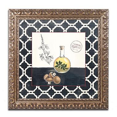 Trademark Fine Art Marco Fabiano 'Oregano and Mushrooms' 11 x 11 (WAP0145-G1111F)