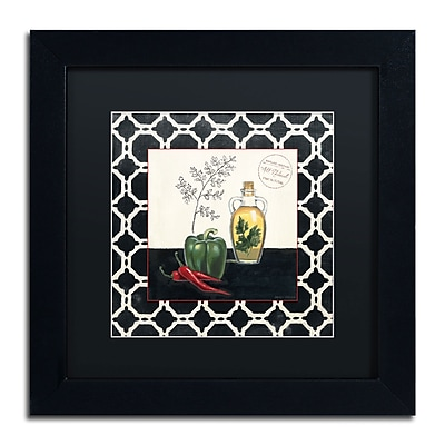 Trademark Fine Art Marco Fabiano 'Parsley and Peppers' 11 x 11 (886511646889)