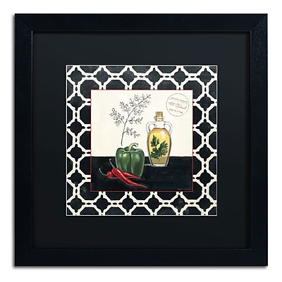 Trademark Fine Art Marco Fabiano 'Parsley and Peppers' 16 x 16 (886511646902)
