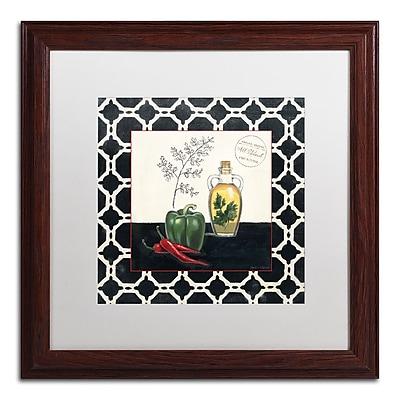 Trademark Fine Art Marco Fabiano 'Parsley and Peppers' 16 x 16 (WAP0146-W1616MF)