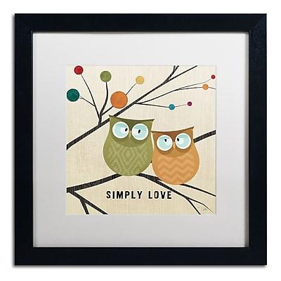 Trademark Fine Art Pela Studio 'Flying Colors I' 16 x 16 (WAP0163-B1616MF)