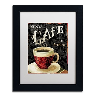 Trademark Fine Art Lisa Audit 'Today's Coffee I' 11 x 14 (WAP0176-B1114MF)