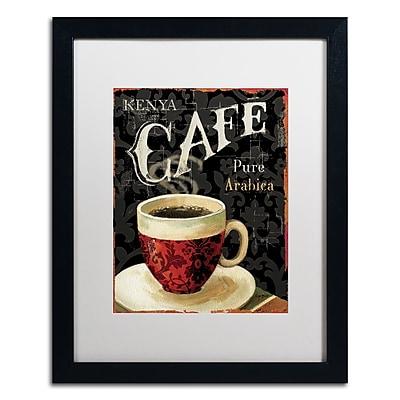 Trademark Fine Art Lisa Audit 'Today's Coffee I' 16 x 20 (WAP0176-B1620MF)