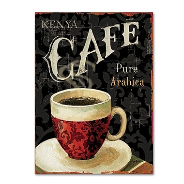 Trademark Fine Art Lisa Audit 'Today's Coffee I' 24 x 32 (WAP0176-C2432GG)