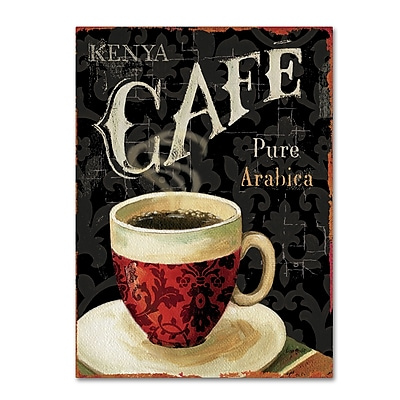 Trademark Fine Art Lisa Audit 'Today's Coffee I' 24 x 32 (WAP0176-C2432GG)
