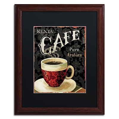 Trademark Fine Art Lisa Audit 'Today's Coffee I'  16 x 20 (886511706446)