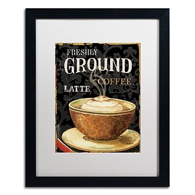 Trademark Fine Art Lisa Audit 'Today's Coffee II' 16 x 20 (WAP0177-B1620MF)