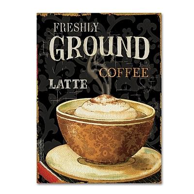 Trademark Fine Art Lisa Audit 'Today's Coffee II' 24 x 32 (WAP0177-C2432GG)