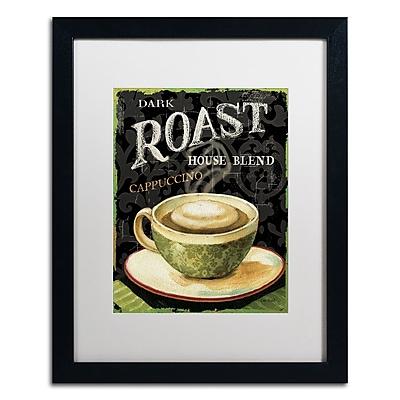 Trademark Fine Art Lisa Audit 'Today's Coffee III' 16 x 20 (WAP0178-B1620MF)