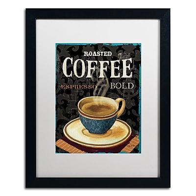 Trademark Fine Art Lisa Audit 'Today's Coffee IV' 16 x 20 (WAP0179-B1620MF)