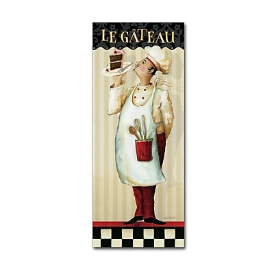 Trademark Fine Art Lisa Audit 'Chef's Masterpiece IV' 20 x 47 (WAP0183-C2047GG)