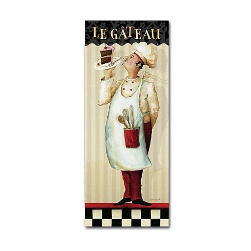 Trademark Fine Art Lisa Audit 'Chef's Masterpiece IV'  8 x 19 (WAP0183-C819GG)