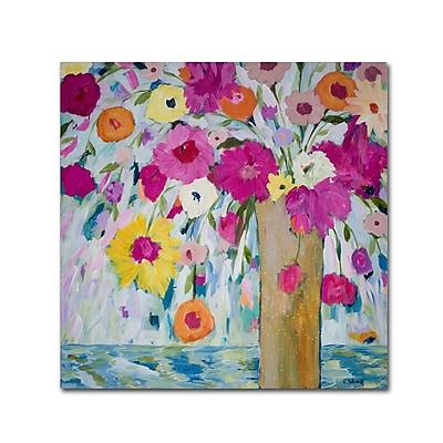 Trademark Fine Art Carrie Schmitt 'Sunshine Daydream' 35 x 35 (ALI0783-C3535GG)