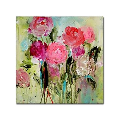 Trademark Fine Art Carrie Schmitt 'Entre Nous' 24 x 24 (ALI0786-C2424GG)