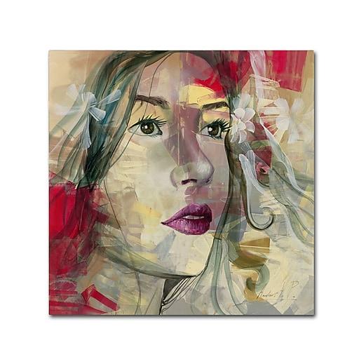 Trademark Fine Art Andrea 'Ana Lucia'  35 x 35 (MA0598-C3535GG)