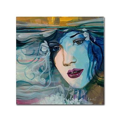 Trademark Fine Art Andrea 'Celeste' 18 x 18 (MA0601-C1818GG)