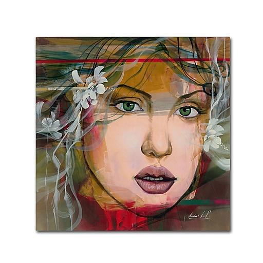 Trademark Fine Art Andrea 'Esmeralda'  24 x 24 (MA0605-C2424GG)