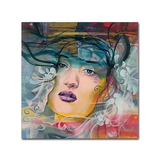 Trademark Fine Art Andrea 'Mirada Lejana'  14 x 14 (MA0607-C1414GG)