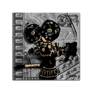 Trademark Fine Art Roderick Stevens 'Movie Camera'  24 x 24 (RS1002-C2424GG)