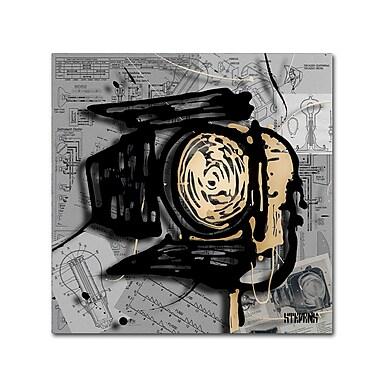 Trademark Fine Art Roderick Stevens 'Movie Light' 35 x 35 (RS1003-C3535GG)
