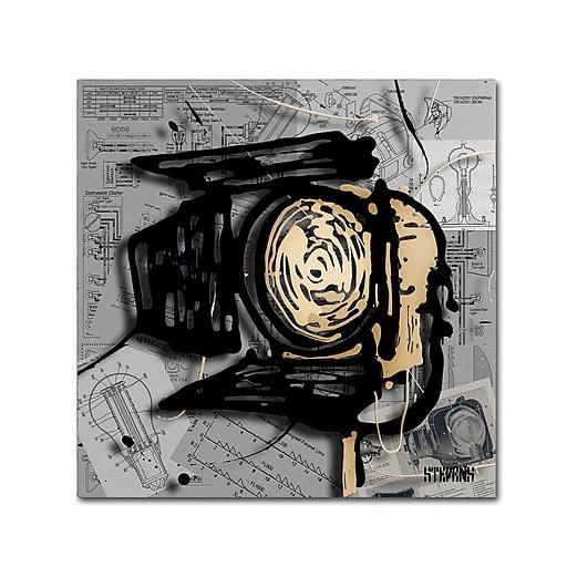 Trademark Fine Art Roderick Stevens 'Movie Light'  24 x 24 (RS1003-C2424GG)