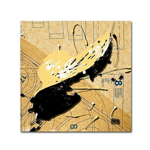 Trademark Fine Art Roderick Stevens 'Beige Floppy'  35 x 35 (RS976-C3535GG)