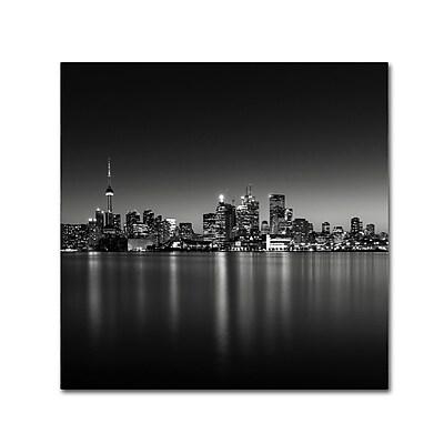 Trademark Fine Art Dave MacVicar 'Lights' 14 x 14 (ALI0839-C1414GG)