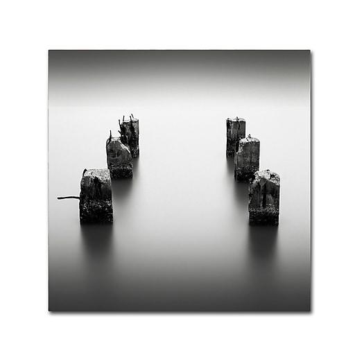 Trademark Fine Art Dave MacVicar 'Pillars'  24 x 24 (ALI0845-C2424GG)
