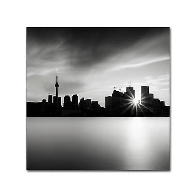 Trademark Fine Art Dave MacVicar 'Silver City' 18 x 18 (ALI0852-C1818GG)