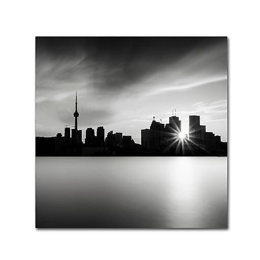 Trademark Fine Art Dave MacVicar 'Silver City'  24 x 24 (ALI0852-C2424GG)