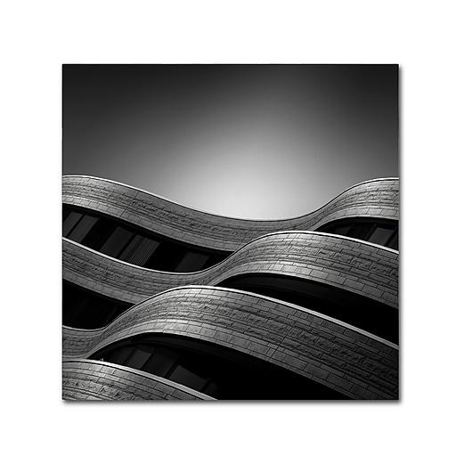 Trademark Fine Art Dave MacVicar 'The Urban Sea'  14 x 14 (ALI0868-C1414GG)