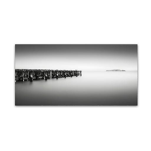 Trademark Fine Art Dave MacVicar 'Alcatraz'  24 x 47 (ALI0822-C2447GG)