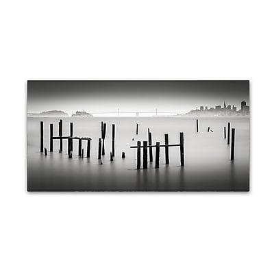 Trademark Fine Art Dave MacVicar 'Sausalito' 12 x 24 (ALI0850-C1224GG)