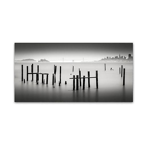 Trademark Fine Art Dave MacVicar 'Sausalito'  16 x 32 (ALI0850-C1632GG)