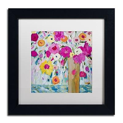 Trademark Fine Art Carrie Schmitt 'Sunshine Daydream' 11 x 11 (ALI0783-B1111MF)